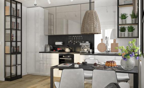 twoje piekne mieszkanie ekipa remontowa, kuchnie w zabudowie