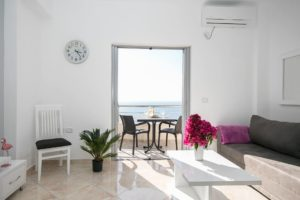 apartament saranda z widokiem na morze