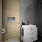 drewniane panele lazienkowe zgora