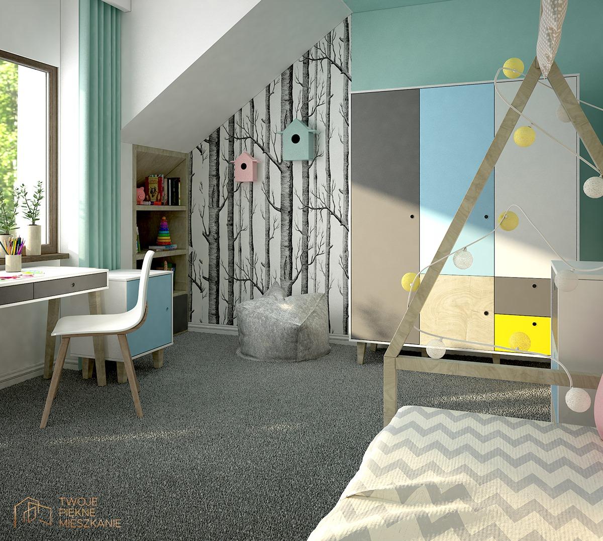 konsultacje projektowe sypialnia dla dziecka