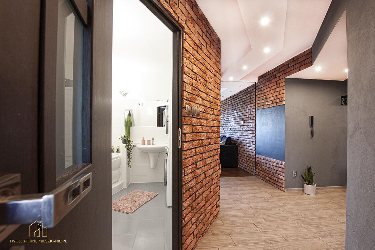 cegła na ścianie twoje piękne mieszkanie