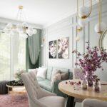 pastelowy pokój twojepiękne mieszkanie