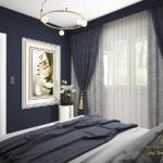 projekt sypialni dla mezczyzny zgora