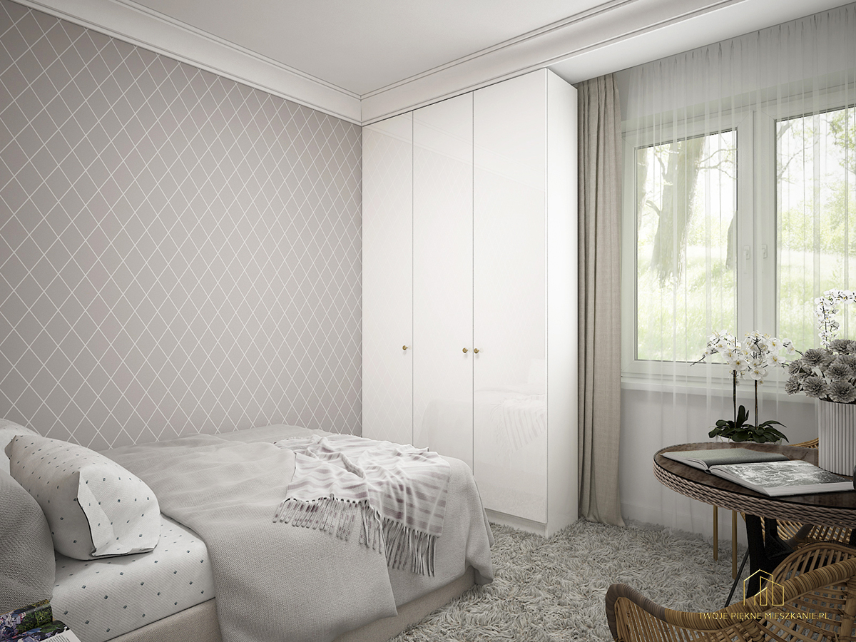 sypialnia z garderoba zielona gora
