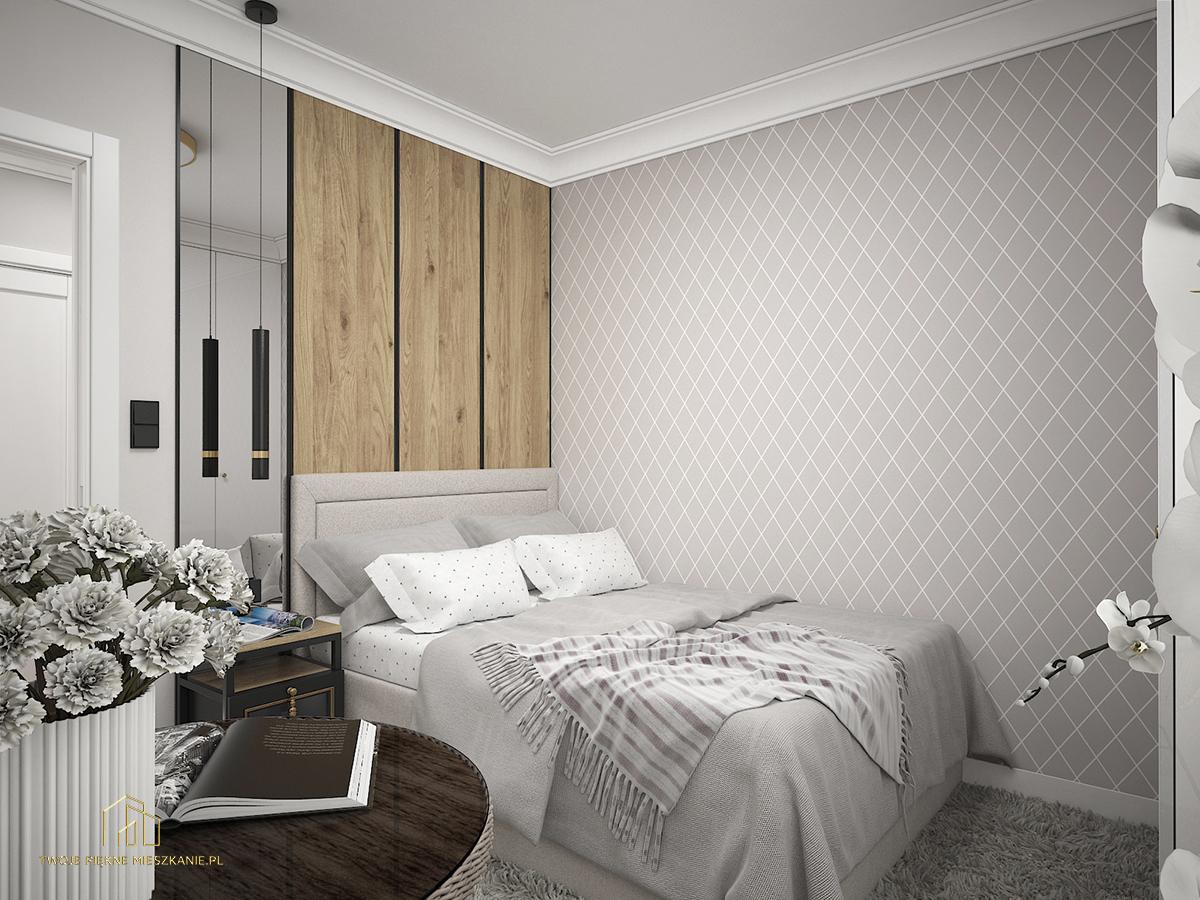 nowoczesna sypialnia zielona gora
