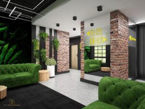 Projektan wnętrz Zielona Góra hotel Ruben